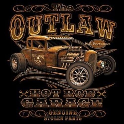 Hot Rod Oldtimer Rockabilly Custom Vintage US Car Outlaw T-Shirt  Gr. S-3XL