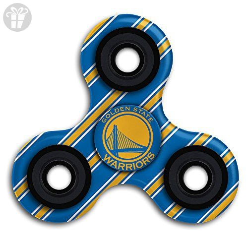 Golden State basketball Logo EDC Tri Fidget Spinner Hand Spinner Finger Spinner Finger Toy Relieve Stress High Speed Focus Toy For ADD, ADHD, Anxiety And Autism Adult Children - Fidget spinner (*Amazon Partner-Link)