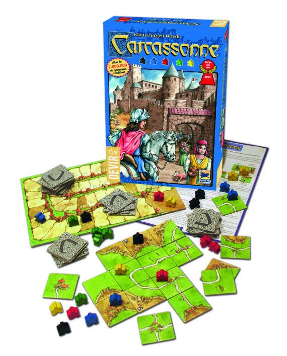 4+ Carcassonne Junior. Claramente el mejor juego para iniciarse en los juegos de tablero. Indispensable.