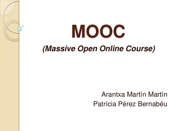 Innovar en la educación a través de los MOOCs, presentación de resultados de varios países donde se trabaja a través de los cursos MOOCs #metodologia#tipologia