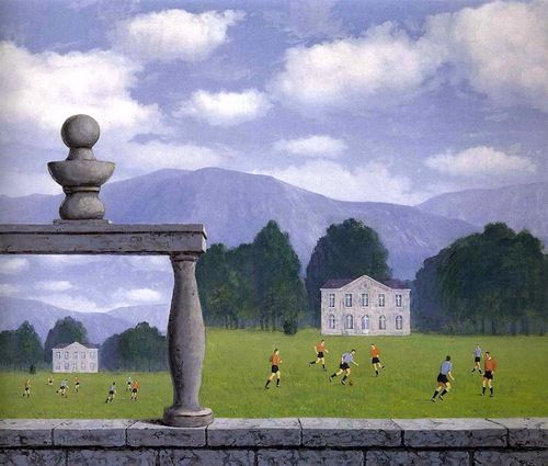 René Magritte, Representation, 1962. Oil on canvas.