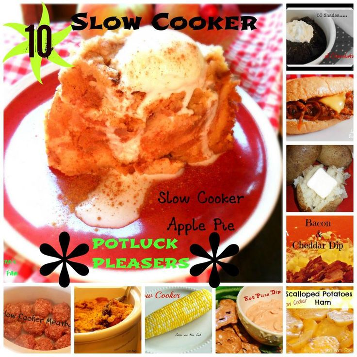 10 {Slow Cooker} Sizzling Summer Potluck Recipes – Lori Ann's Food and Fam