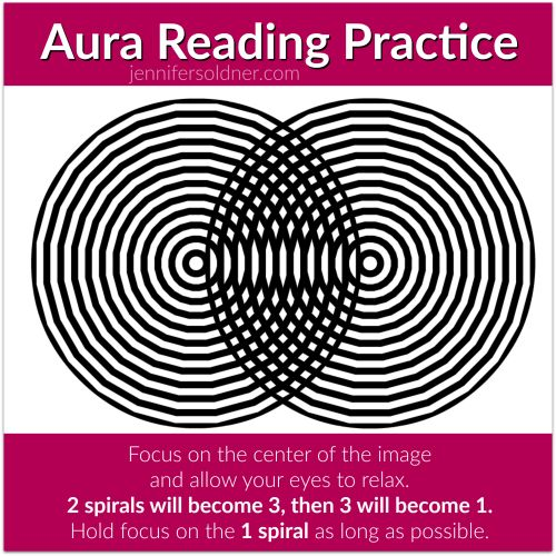 Learn to see auras!