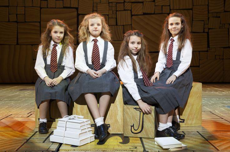 Matilda the Musical, Orginal broadway Matildas: Bailey Ryon, Oona Laurence, Milly Shapiro and Sophia Gennusa
