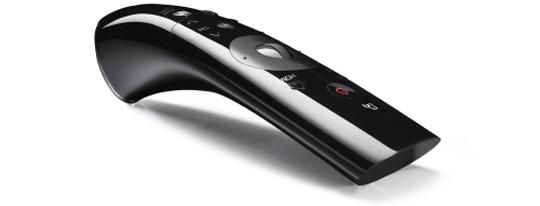 LG's New 2012 Magic Remote Control with voice activation