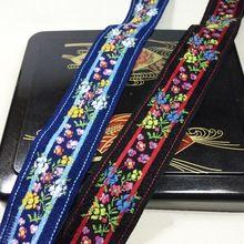 Miao borduurwerk satijn lace trim 3.5 cm jurk kraag lint tape singels etnische tribal nepal thai india boho diy accessoire(China (Mainland))
