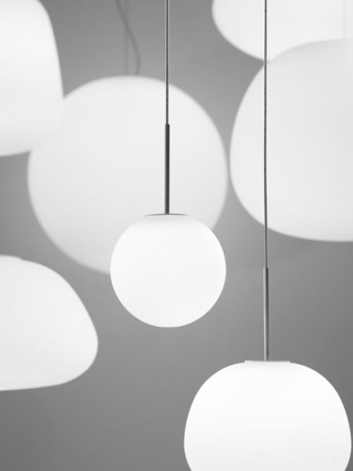 mydarkwhisper: Lumi Lamps by Saggia&Sommella for Fabbian