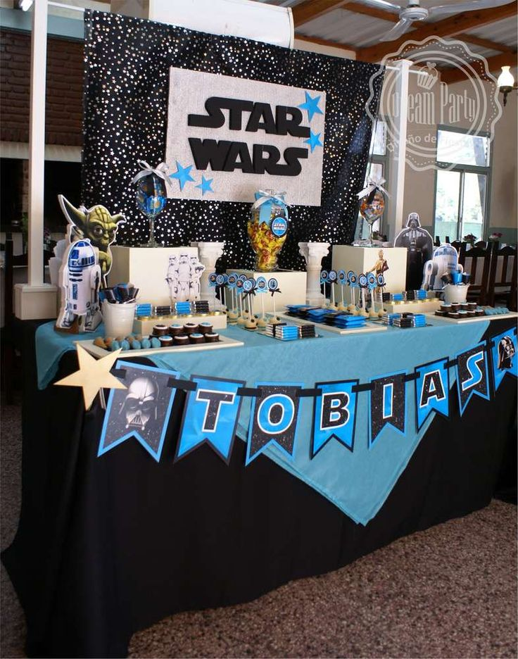 STAR WARS - 4 th Birthday Tobias | CatchMyParty.com