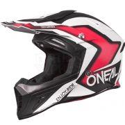 2018 ONeal 10 Series Flow True Motocross Helmet - Black Red