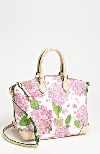 Swoon! Dooney & Bourke Hydrangea Satchel