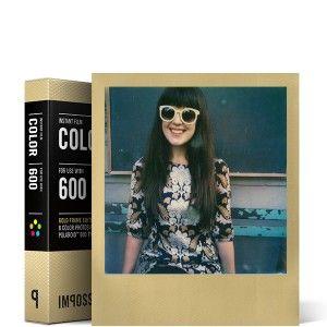 Color Film for 600 Gold Frame