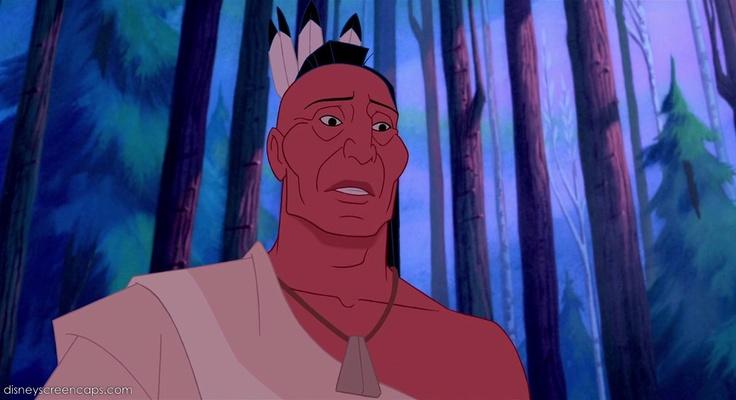 "Pocahontas' Father, Chief Powhatan, In ""Pocahontas"