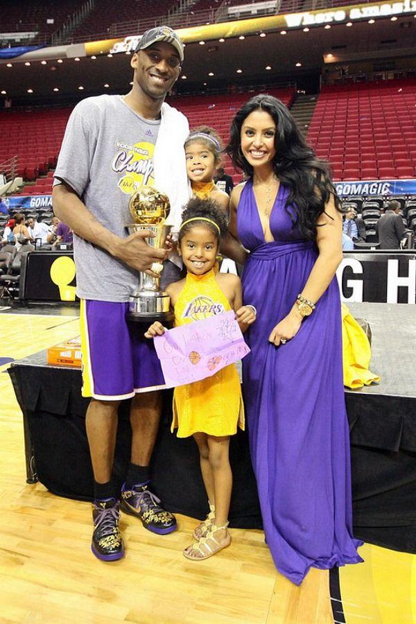 Kobe Bryant & family