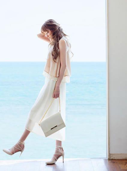 透け感もあって涼しげ♡おすすめ・人気・トレンドのジョーゼットスカーチョ一覧♡