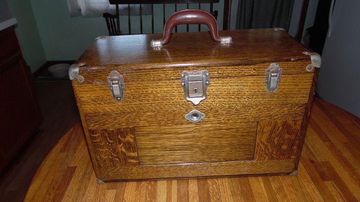 Vintage H. Gerstner Machinist Tool Box model 041C