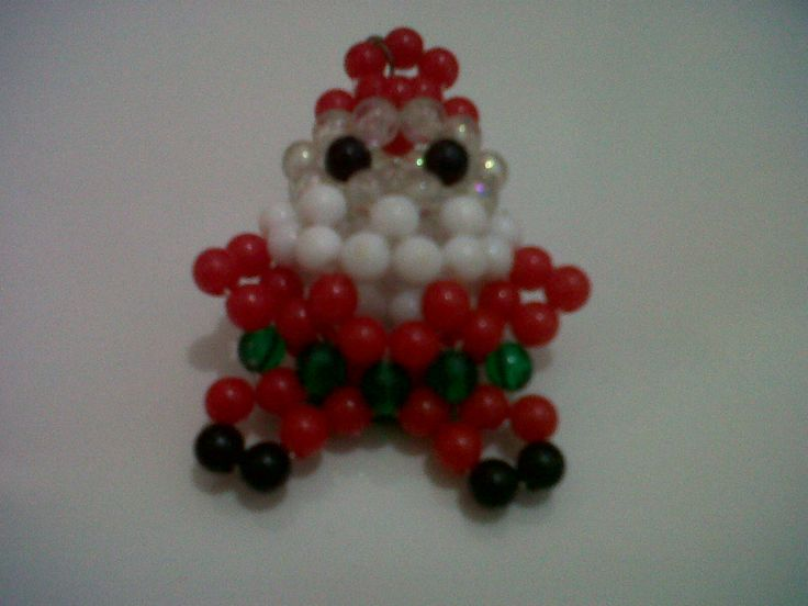 santa claus beads key holder we are accept order ingwinike@gmail.com