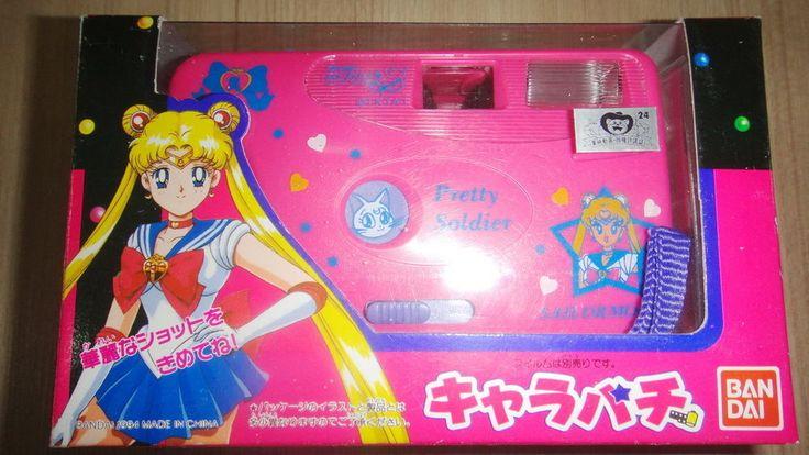 Vintage! Sailormoon Sailor Moon Film Camera Bandai 1994 MIB..Rare! #Bandai