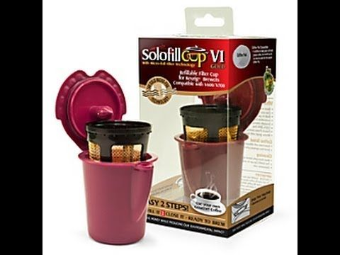 Solofill V1 Gold reusable filter for Keurig Vue. Had used this on Keurig Vue and awesome!!! Worth to get.