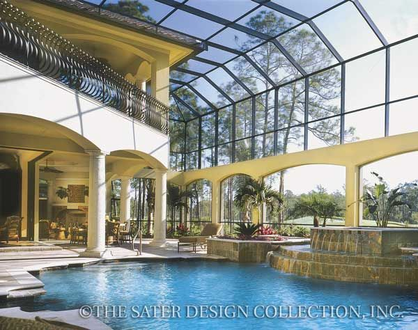 54 best Italian Home Plans - The Sater Design Collection images on ...