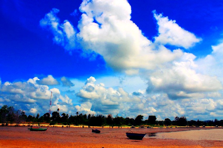 Tanah Merah Beach, Bangka Island