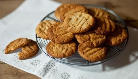 Paul Hollywood's mum's ginger biscuits.  Going to try these with Jennifer.