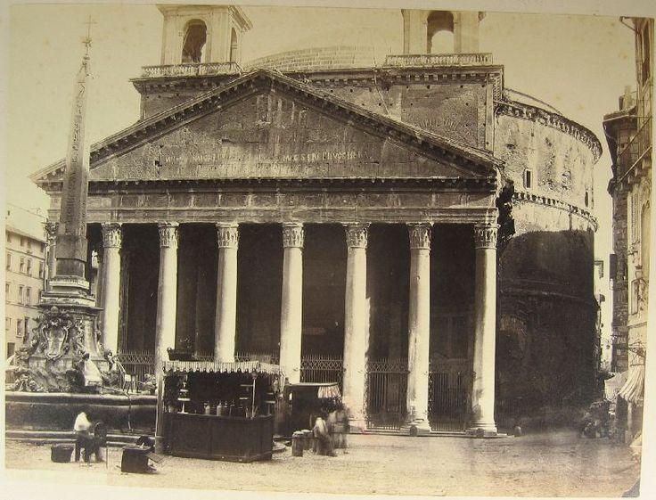 Panteon (Roma) 1860