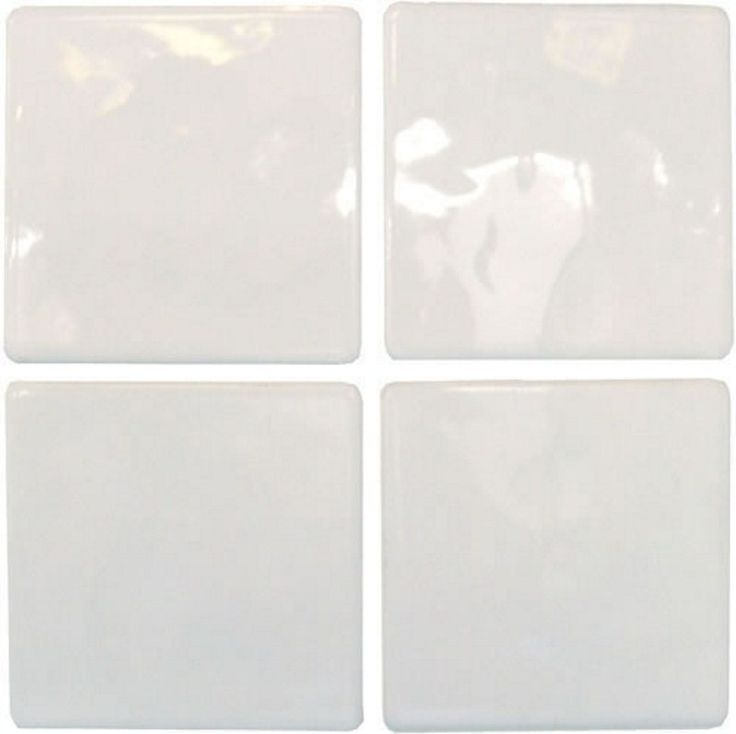 Cimenti Grey Matt Ceramic Wall Tile Pack Of 10 L 400mm: 10x10 Pure White - Tile Choice
