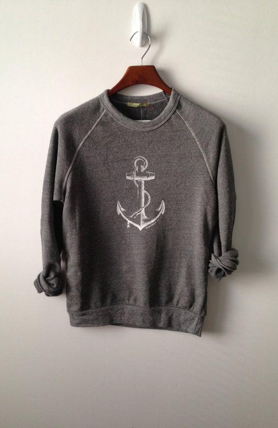 Anchor . Champ Sweatshirt by greythread on Etsy, $50.00