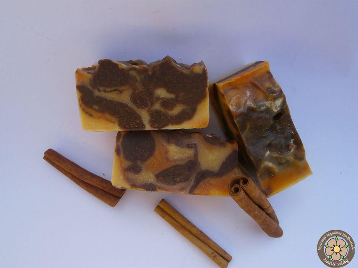 Csoki-narancs-fahéj kézműves szappan ínyenceknek