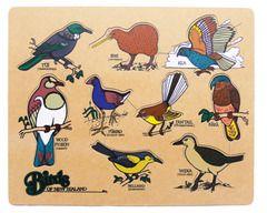 Birds of New Zealand Puzzle - Te Reo Maori