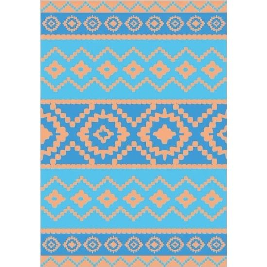 Strandlaken Cristal 140 x 200 cm. Vrolijk gekleurd strandlaken met zomerse print voor volwassenen. De handdoek is ongeveer 140 x 200 cm groot en gemaakt van 100% katoen velours jacquard, 420 gr/m2.
