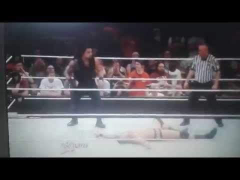 Roman Reigns make SUPER PUNCH for Rendy Orton