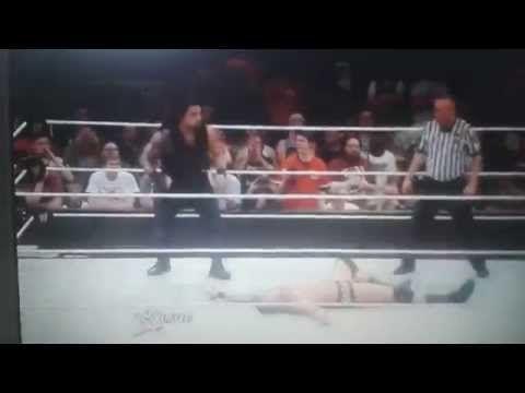 Roman Reigns make SUPER PUNCH for Rendy Orton