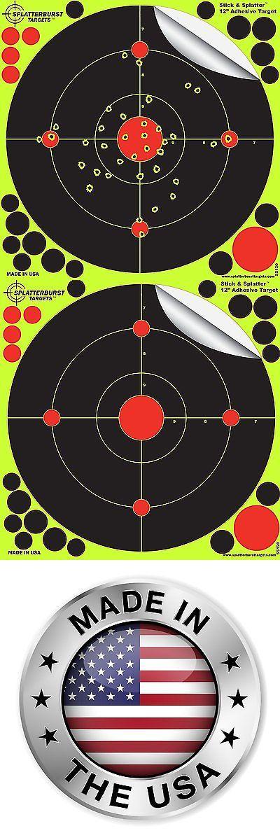 Targets 73978: Shooting Targets 12 Splatter Glow Shot Gun And Rifle Paper Target 10 25 50 Pack -> BUY IT NOW ONLY: $36.46 on eBay!