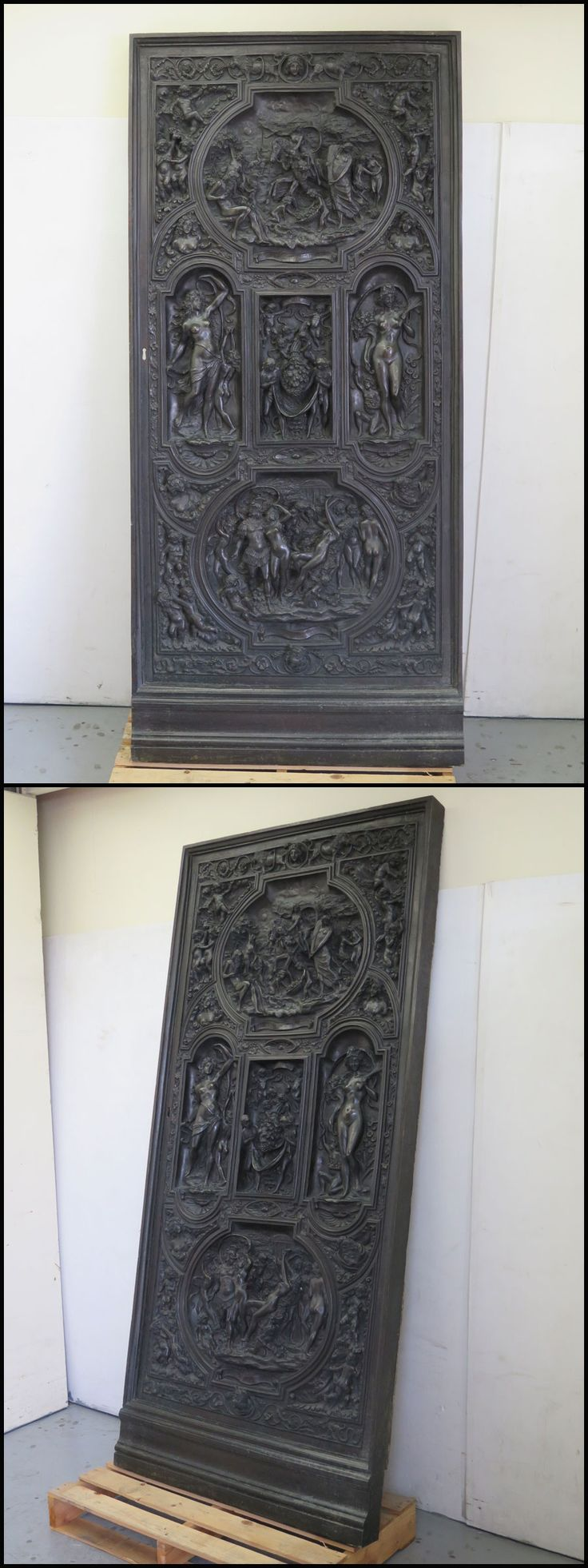◎希少!ブロンズ製 人物文装飾扉 彫刻 西洋美術 ... - ヤフオク!