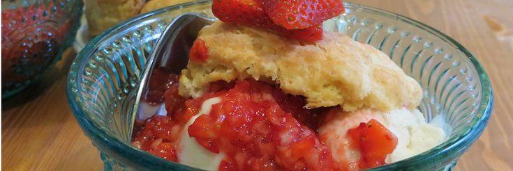 Summer Is Here Strawberry Shortcake