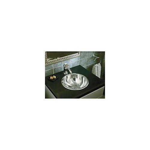 Sterling 131 13-5/8 20 Gauge Stainless Steel (Silver) Bathroom Sink
