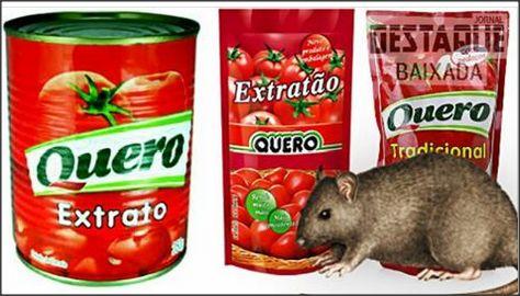 Anvisa proíbe venda de lote de extrato de tomate por conter pelo de rato A Agência Nacional de Vigilância Sanitária (Anvisa) proibiu a distribuição e a venda