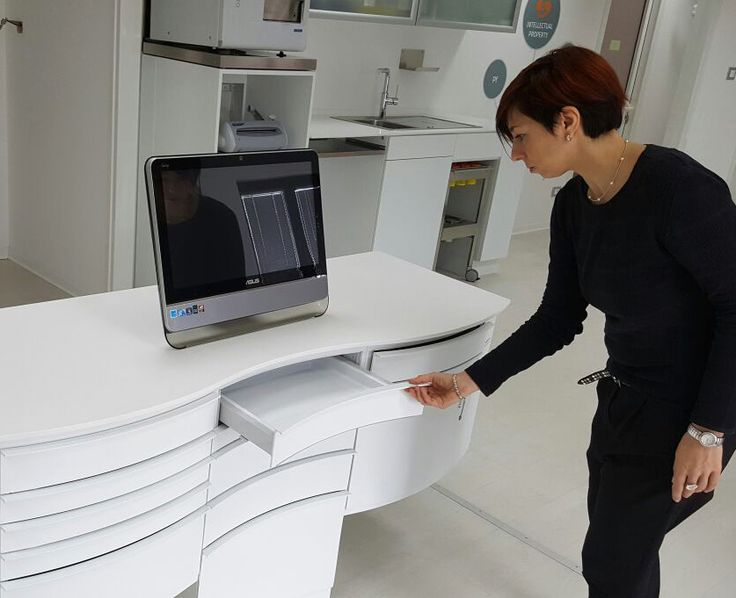 Get up close and personal! Saratoga now offers virtual tours of their showroom in Pordenone, Italy. Check out the latest designs in dental cabinetry. #dentalcabinets #remodel #dentistry