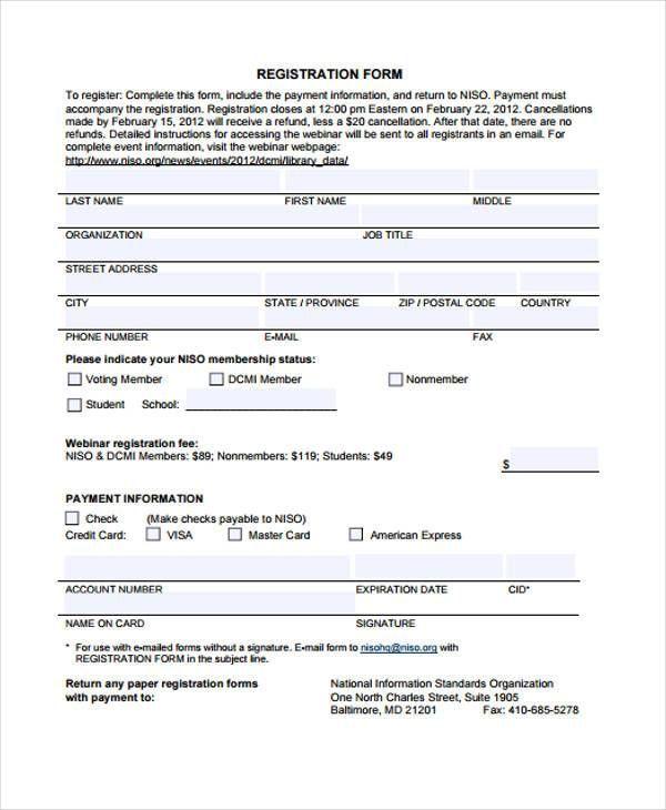 Registration Form Template Free Free Brochure Template Letter Templates Free Registration Form