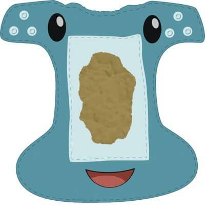 Baby Poop Texture - Formula Fed Baby - Mama Natural