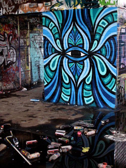 Street art : Les personnages bariolés de Beastman - News - Street-art et Graffiti | FatCap