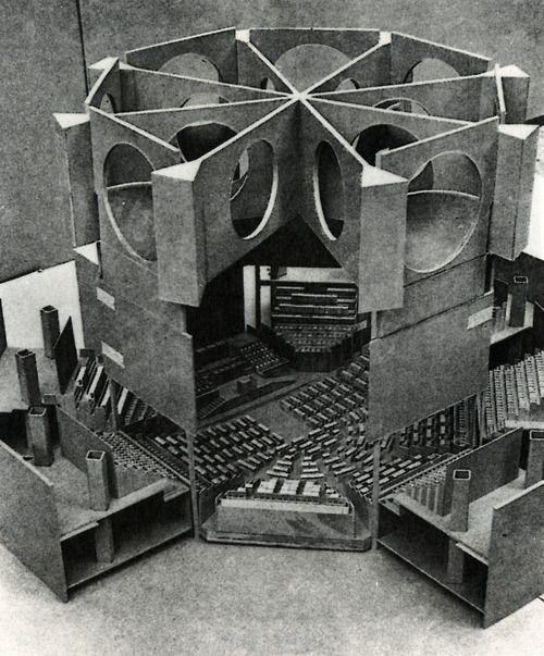 National Assembly Building,Dhaka, Bangladesh (1961-1982) / Louis I. Kahn,