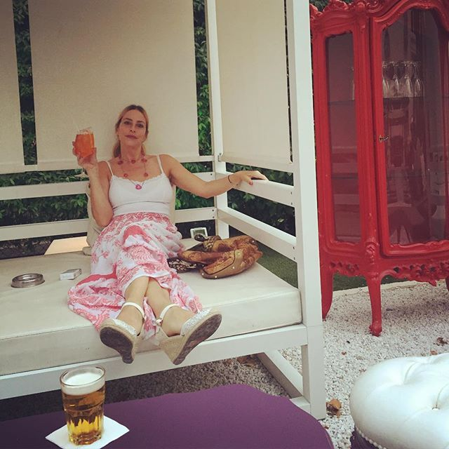 #StefaniaOrlando Stefania Orlando: Aperitime  #aperitivo #dimner #MòMòRepubblic #Roma #Rome #Spritz #Birra