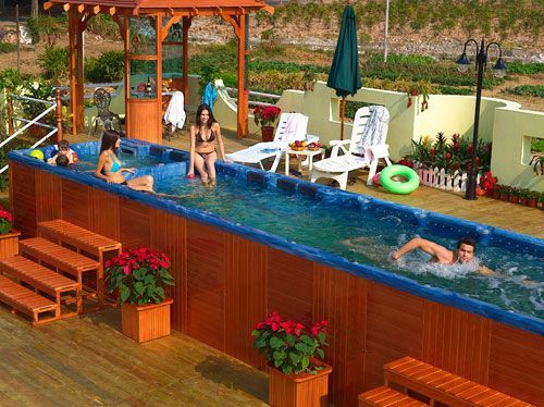 64 Best Swim Spas Hmmm Images On Pinterest Backyard