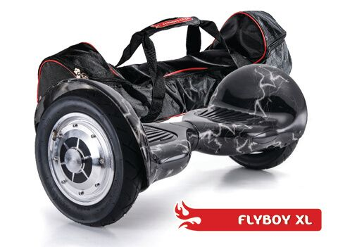 FlyboyXL in Lightning. Get it in a bag! This model has more GO than the other models. With it's larger, inflatable wheels, it can go where the others can't. Visit www.flyboys.co.za for more specs on this model and more