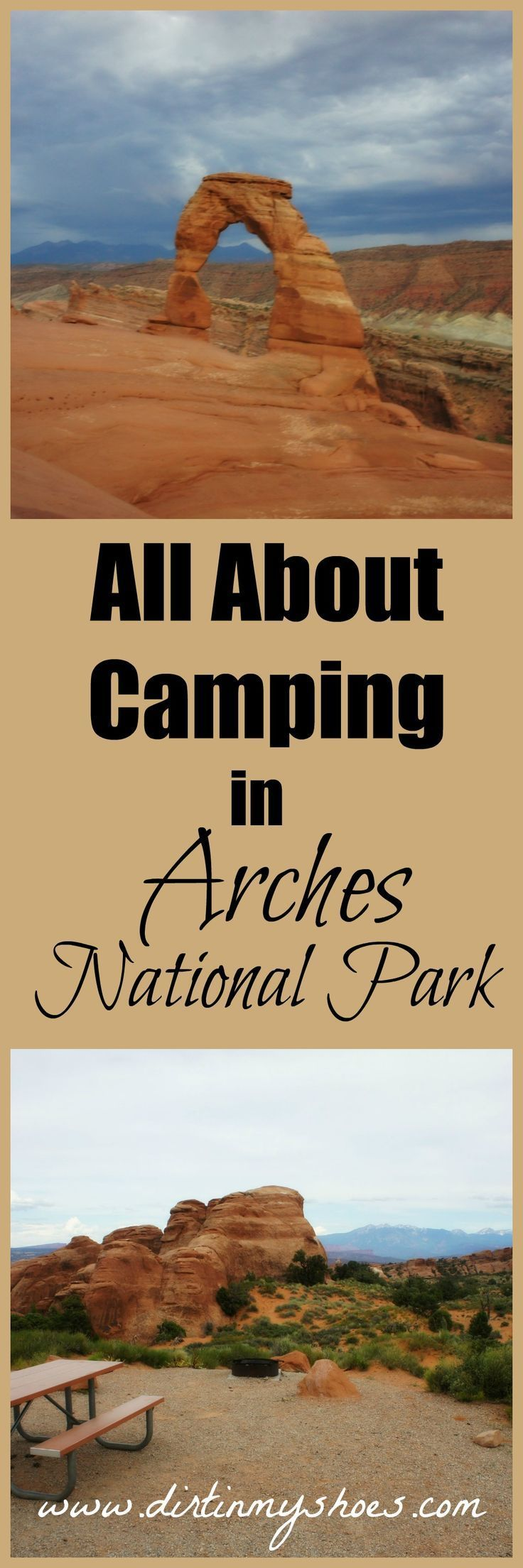 Learn everything you need to know about snagging a campsite in Arches National Park!