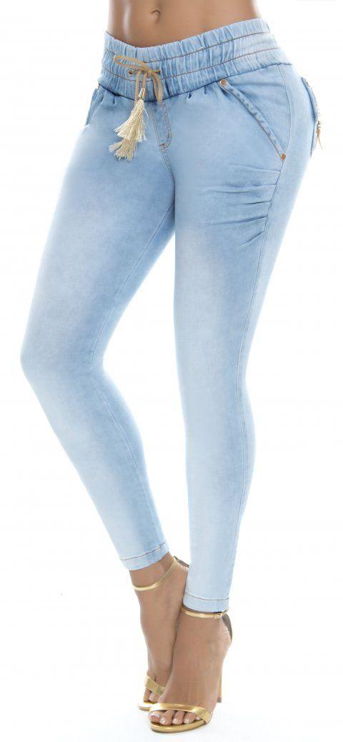 Jeans levanta cola LUJURIA 78761