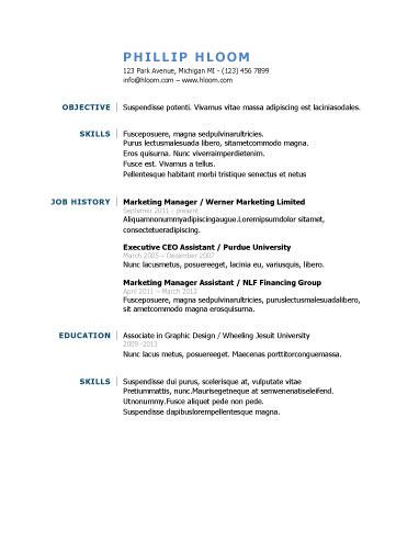 31 best resume format images on Pinterest Cv format, Resume - cab driver resume
