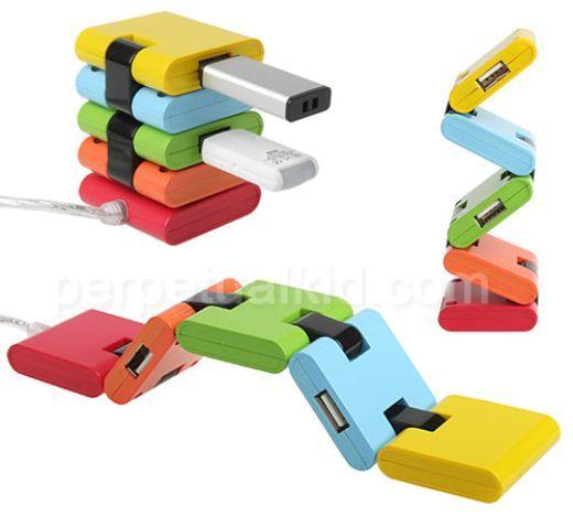Hermoso Concentrador de Puertos USB